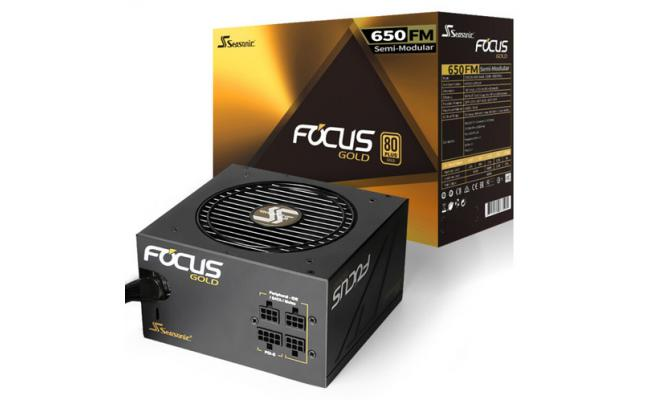 Seasonic FOCUS FM-650 650W 80+ Gold  Semi-Modular