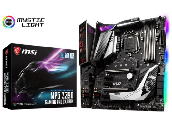 MSI MPG Z390 GAMING PRO CARBON Intel Z390