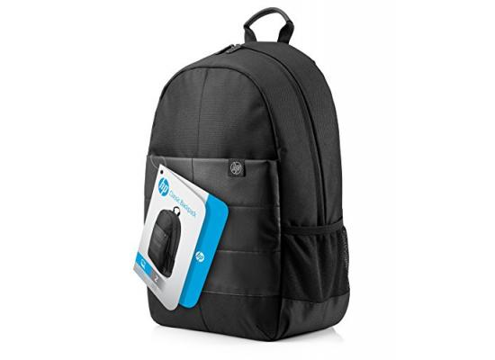 """HP 15.6"""" Classic Backpack Laptop Carry Case- Black"""