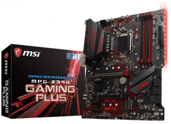 MSI MPG Z390 GAMING PLUS Intel Z390 ATX Motherboard