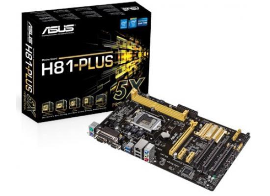 Asus H81M-PLUS Intel H81 HDMI Micro ATX Motherboard