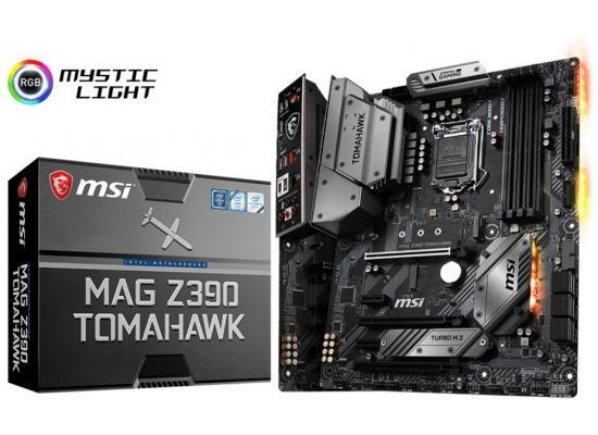 MSI MAG Z390 TOMAHAWK Intel Z390 ATX Motherboard