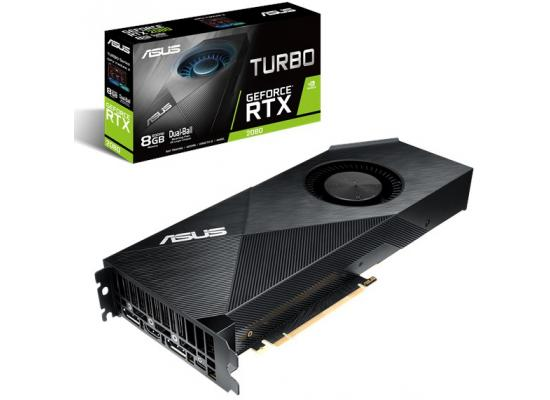 ASUS Nvidia GeForce RTX 2080 8G Turbo Edition GDDR6