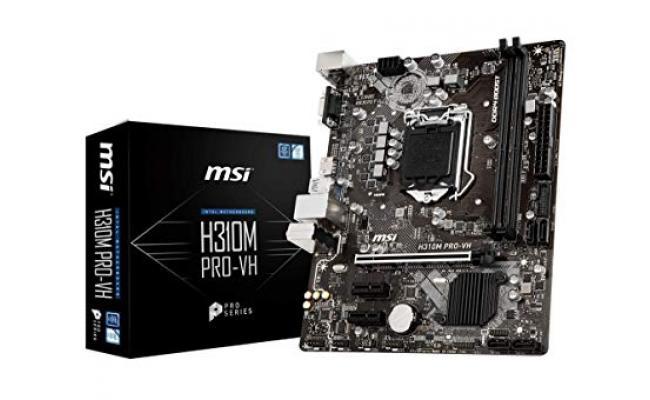 MSI H310M Pro-VH LGA 1151 Micro-ATX Motherboard
