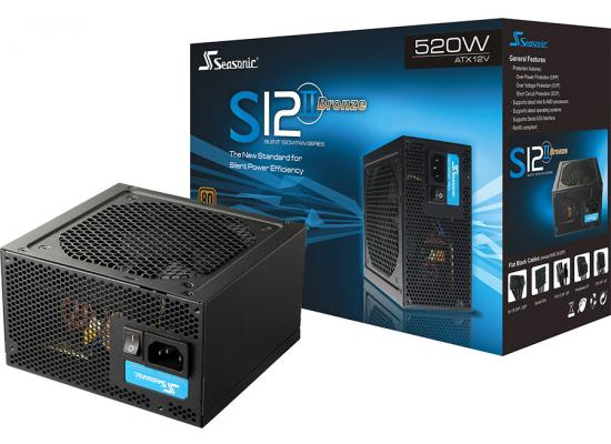 Seasonic S12II 520W 80+ Bronze Power Supply