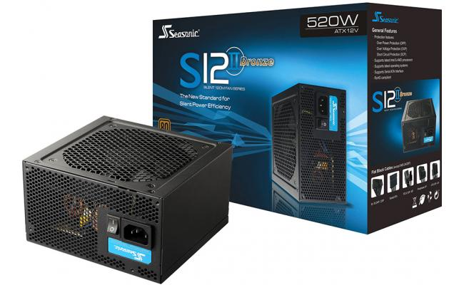 Seasonic S12II 520W 80+ Bronze Power Supply