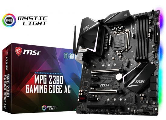 MSI MPG Z390 GAMING EDGE AC Intel Z390 Motherboard