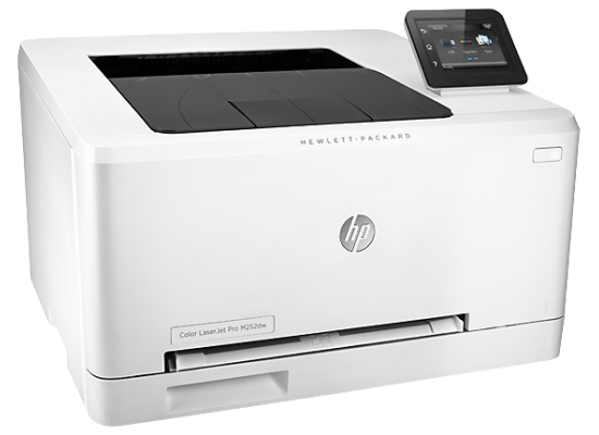 HP Color LaserJet Pro M252dw Network Printer