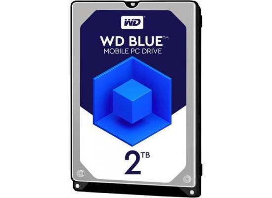 WD Blue 2TB 5400 RPM 128MB Notebook Hard Drive