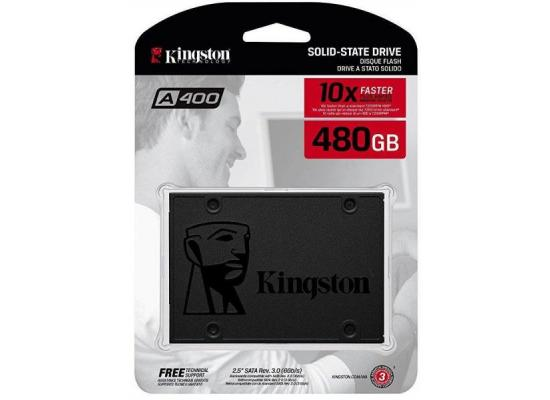 Kingston A400 480GB SATA III Solid State Drive (SSD)