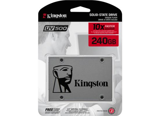 Kingston UV500 240GB SATA III Solid State Drive (SSD)