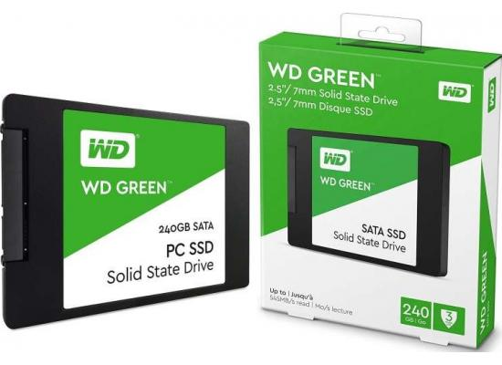 WD Green 240GB SATA III Solid State Drive (SSD)