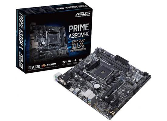 Asus PRIME A320M-K AMD A320 DDR4 Motherboard