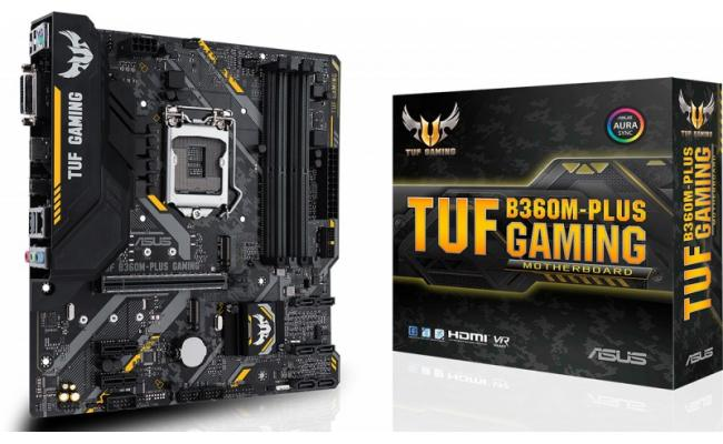 Asus TUF B360M-PLUS GAMING Intel B360 Motherboard