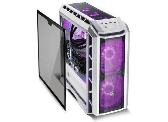 MasterCase H500P Mesh White  w/ 2 x 200mm RGB Fans