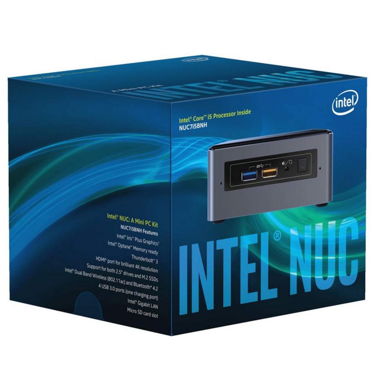 Intel NUC Kit Intel Core i5-7260U Mini PC Barebone