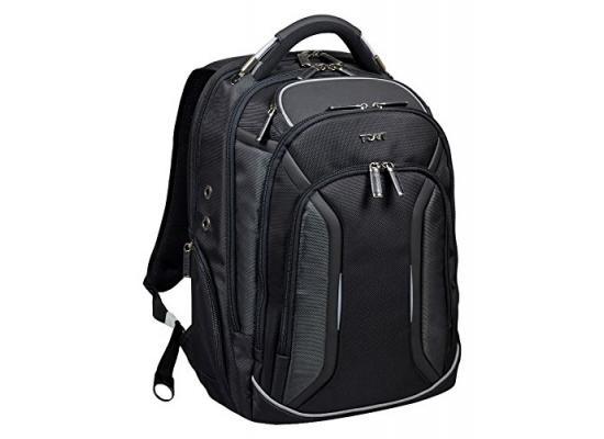 """Port Designs 170400 Melbourne 15.6"""" Backpack (Black)"""