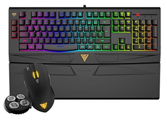 Gamdias Ares 7 Color Keyboard & Ourea FPS Mouse