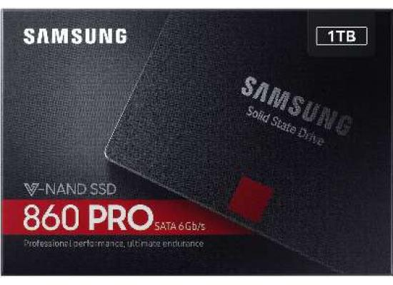 Samsung 860 Pro Series 1TB Solid State Drive  V-NAND