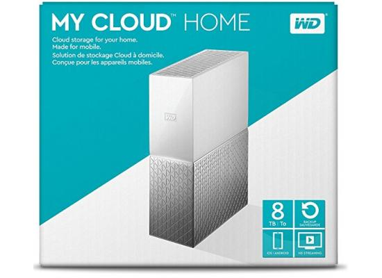 WD 8TB My Cloud Home Personal Cloud Storage