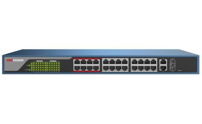 Hikvision DS-3E1326P-E 24-Ports Web-Managed PoE