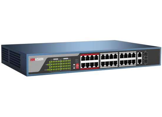 Hikvision DS-3E0326P-E 24-Ports Unmanaged PoE