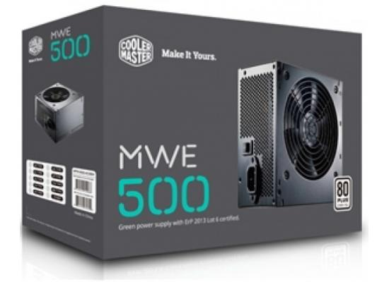Cooler Master MWE 550W  80+ Certified (Black)