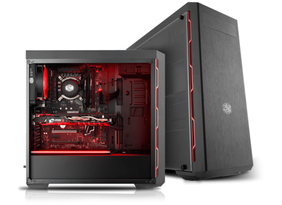 CoolerMaster MasterBox MB600L Mid Tower ATX Black