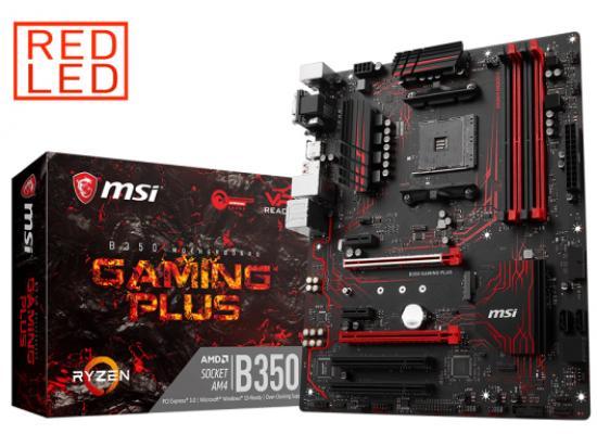 MSI B350 GAMING PLUS AMD B350 ATX Motherboard