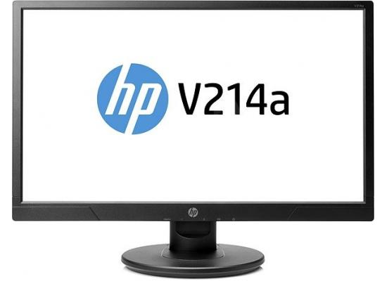 "HP V214a LED 20.7"" Full HD Monitor , HDMI + VGA"