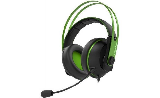 ASUS Cerberus V2 Gaming Headset (Black/Green)