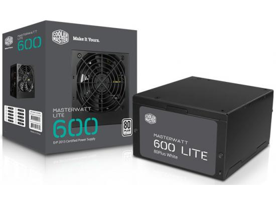 Cooler Master Lite 600W 80 PLUS Certified (Black)