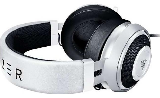 Razer Kraken Pro V2 Oval Gaming Headset - ( White )