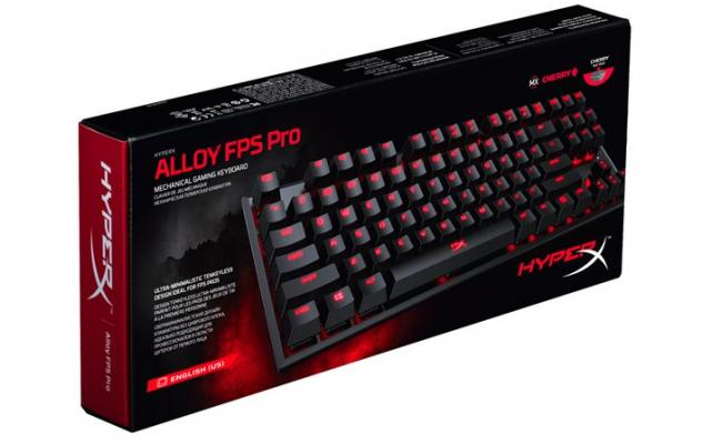 HyperX Alloy FPS Pro 87-Key Mechanical Cherry MX-Blue
