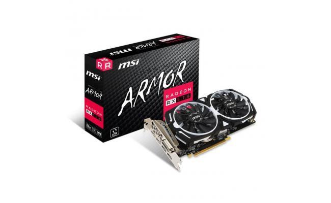 MSI AMD Radeon RX 570 ARMOR 8GB GDDR5