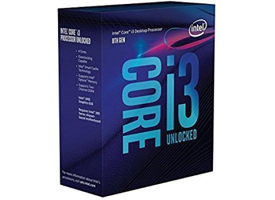 Intel Core i3-8350K Coffee Lake Quad-Core 4.0 GHz