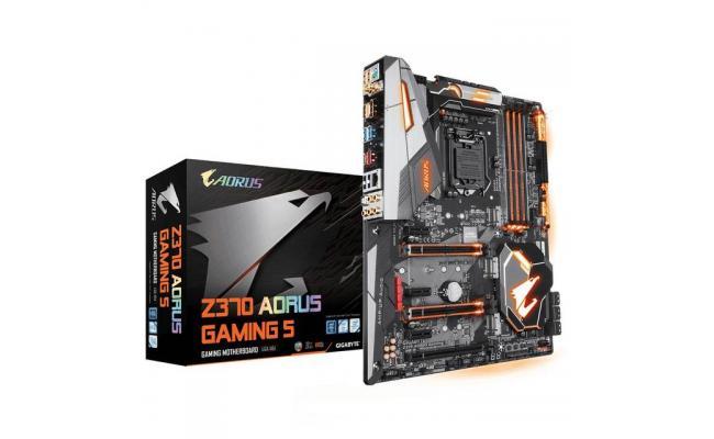 GIGABYTE Z370 AORUS GAMING 5 Intel Z370 M.B