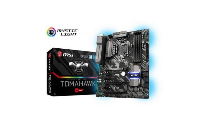 MSI Z370 TOMAHAWK Intel Z370 Motherboard