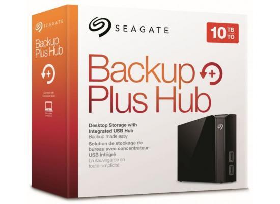 Seagate Backup Plus Hub 10TB External Desktop HDD