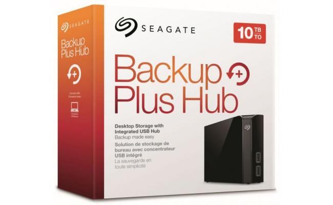 Seagate Backup Plus Hub 10TB External Desktop HDD