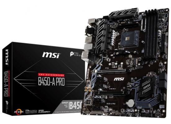 MSI B450-A PRO AMD B450 ATX Motherboard