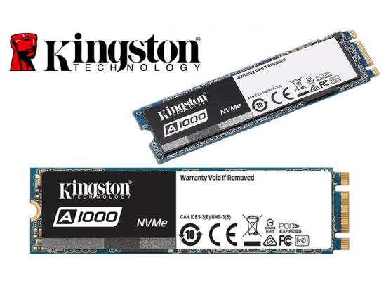 Kingston A1000 240GB SSDNow M.2 PCIe NVMe