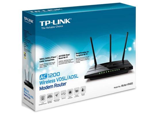 TP-Link Archer VR400 AC1200 VDSL/ADSL Router