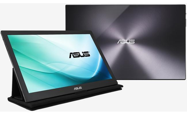 "ASUS MB169B+ IPS 15.6"" Portable USB Monitor, FHD"
