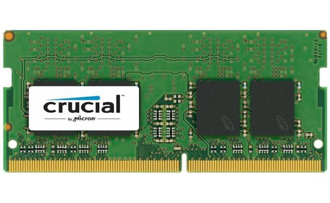 Crucial DDR4-2400 SODIMM 4GB Notebook Memory