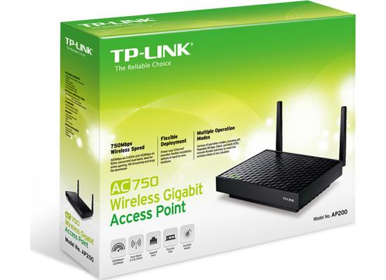 TP-Link AP200 AC750 Dual Band Gigabit Access Point