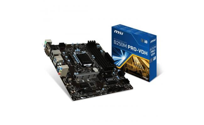 MSI B250M PRO-VDH Intel B250 MicroATX Motherboard
