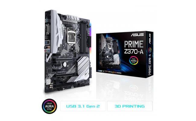Asus PRIME Z370-A Intel Z370 ATX Motherboard