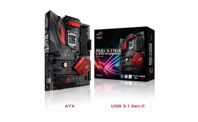 Asus STRIX Z370-H GAMING Intel Z370 ATX Motherboard