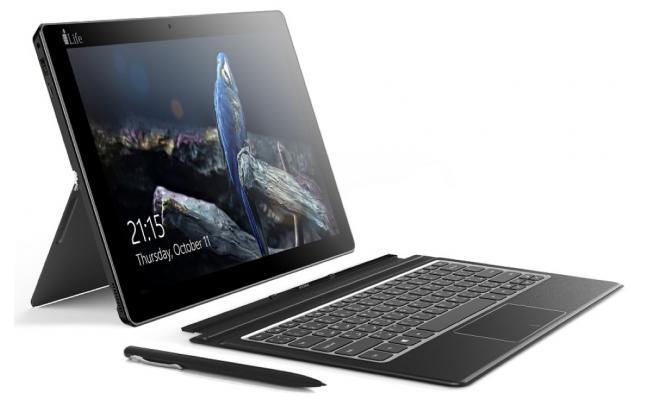 """i-Life ZedBook II  2 in 1 Tablet 11.6"""" Touch Screen - Black"""